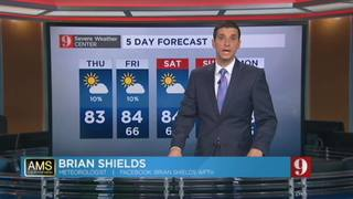 5-day forecast for Oct. 27