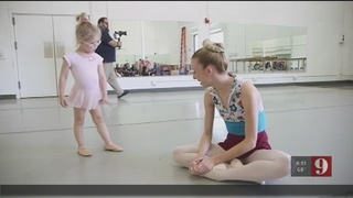 New program teaches special needs children ballet