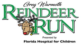 Greg Warmoth Reindeer Run at SeaWorld