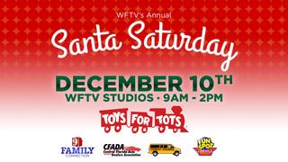 Santa Saturday at WFTV/WRDQ