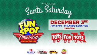Santa Saturday at Fun Spot 12/3