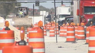 Drivers frustrated with Kissimmee-Poinciana JYP construction project