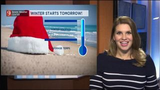 Average temperatures and the Christmas outlook
