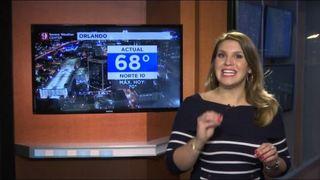 Temperaturas promedio y el pronóstico Navideño