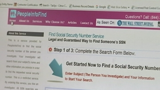 9 Investigates: Website claims to sell Social Security numbers