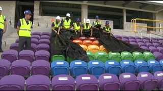Orlando City unveils Pulse tribute seats
