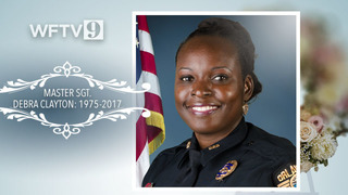 Orlando police Master Sgt. Debra Clayton laid to rest