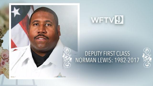 Funeral program for Deputy Norman Lewis   WFTV
