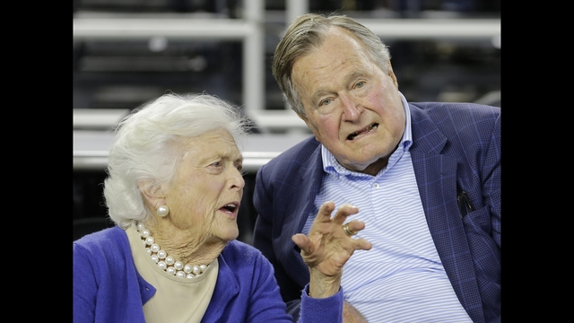 George H W Bush Now In Icu Wife Also Hospitalized Wftv