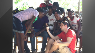 Brian Shields travels to Haiti to help citizens still struggling after…
