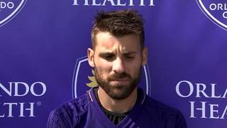 Orlando City Midfielder Antonio Nocerino Talks about his offseason