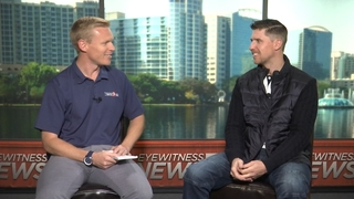 Denny Hamlin 1 on 1 with Channel 9