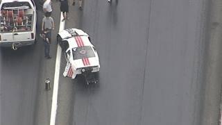 Son of champion drag racer involved in crash at Orange County race track