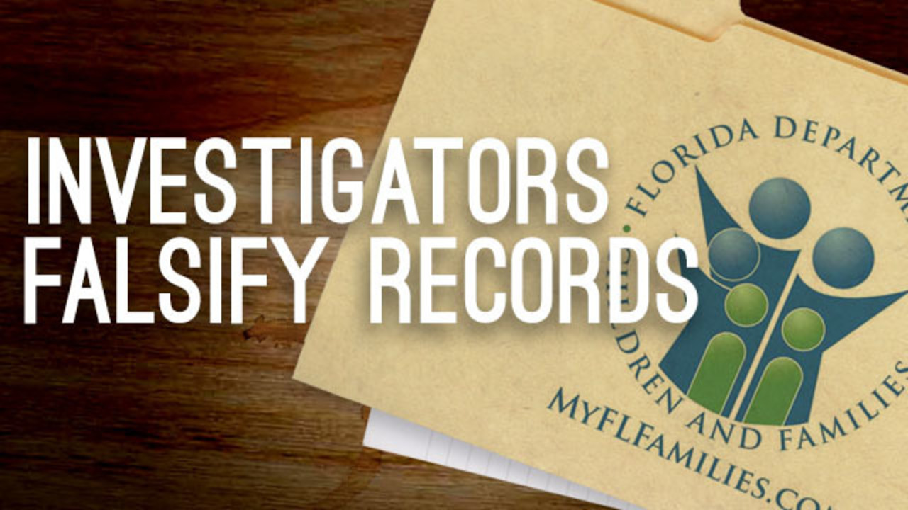9 Investigates DCF caseworkers accused of falsifying records