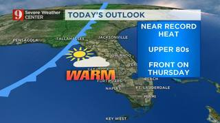 Record Warmth Possible!