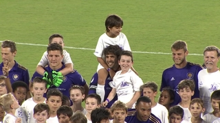 Orlando City holds Kids vs. Pros Charity Match