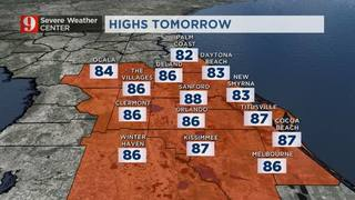 Warm Weather Quickly Moves In!