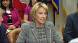 VIDEO: Protests expected during Betsy Devos visit