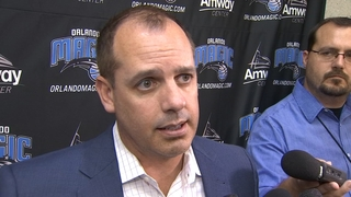 Magic Head Coach Frank Vogel