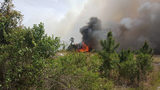 Photos: Brush fire in Volusia County impacts I-4 - (3/5)