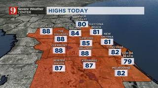 Hotter Weather Moving In!