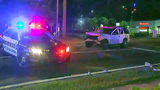 Photos: Crash involving Sanford police car - (1/12)