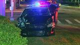 Photos: Crash involving Sanford police car - (4/12)