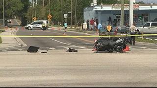 Fatal crash closes Ormond Beach roadway