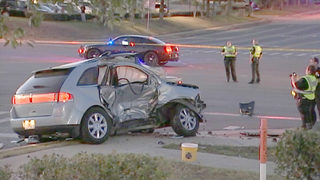 Shooting suspect critical after crash in Clermont, police say