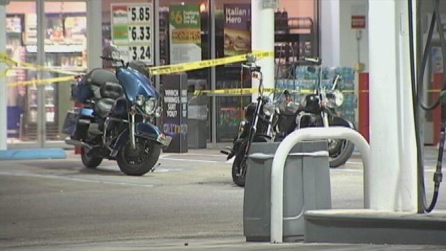 motorcycle shooting k  Police identify men injured in biker gang shootout during Leesburg ...