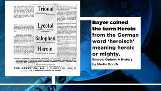 Video: 9 facts about the history of heroin