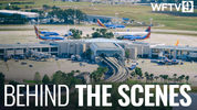 9 Investigates was given unprecedented access to the control tower at Orlando International Airport.