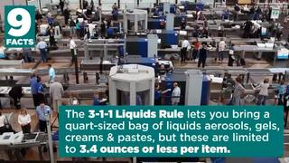Video: 9 facts about airport security