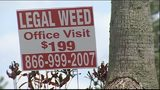 See signs for 'legal weed