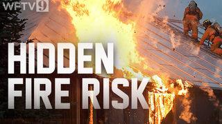 Action 9 investigates hidden fire risks in attics