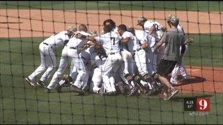 Highlights: UCF baseball wins co-AAC title