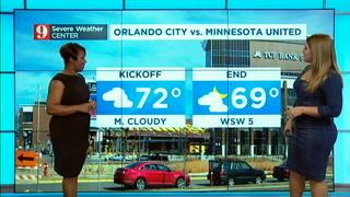 Orlando City game forecast
