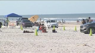 Thousands pack Volusia County beaches Memorial Day