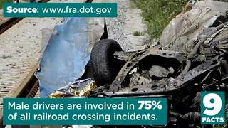 9 Facts: Railroad Crossing Safety