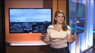 Aguaceros y tormentas fuertes sobre Florida Central