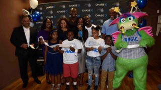 Orlando Magic and Chase Team Up to Unveil Refurbished New Image Youth…
