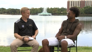 One on One with Orlando City Forward Giles Barnes