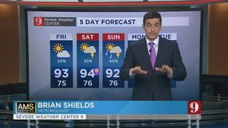 5 Day forecast: June 22