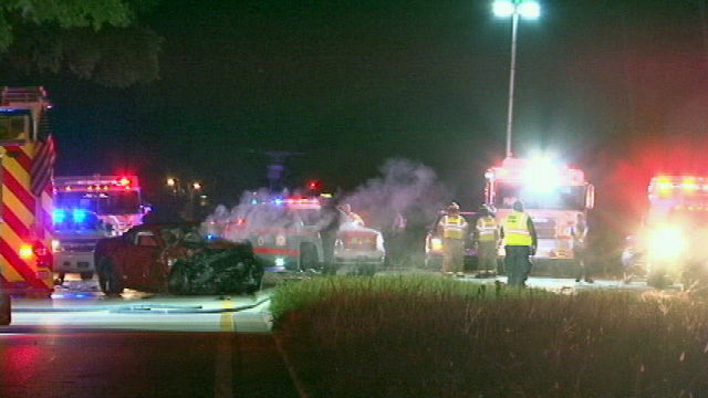 Troopers: Man, 73, boy, 11, die in fiery crash in DeLand