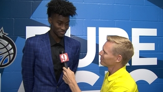 Jonathan Isaac talks with Channel 9
