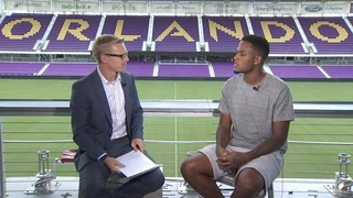 Cyle Larin talks to Channel 9