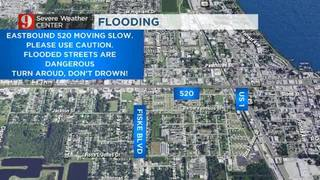 Watch: Flash flooding in Cocoa