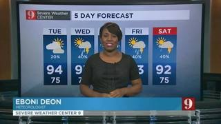 5 day forecast: clouds keep the heat away