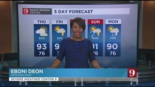 5 day forecast: Rain chances gradually up