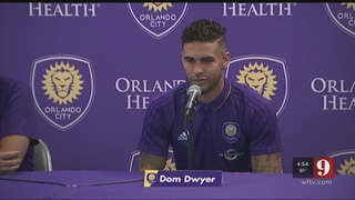 Video: Hundreds of Orlando City soccer fans gathered to greet the return…